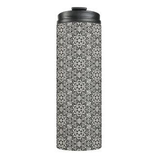Arabic floral pattern thermal tumbler