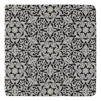 Arabic floral pattern trivet