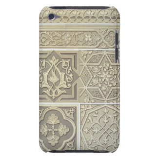 Arabic tile designs (colour litho) barely there iPod cover