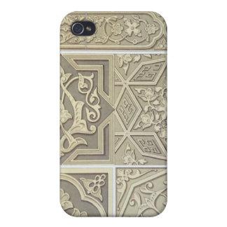 Arabic tile designs (colour litho) iPhone 4 case