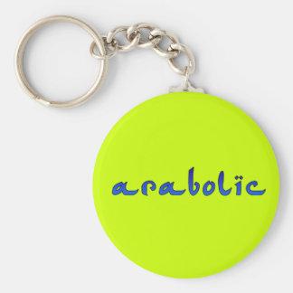 arabolic basic round button key ring
