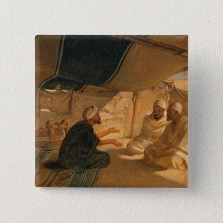Arabs in the Desert, 1871 15 Cm Square Badge