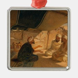 Arabs in the Desert, 1871 Christmas Ornament