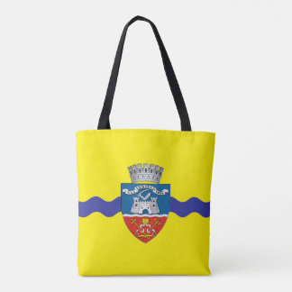 arad city flag romania symbol tote bag
