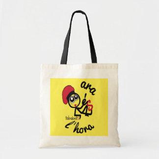Araésl'hora Stock market Fabric Budget Tote Bag