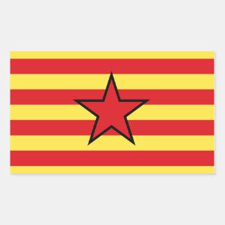 Aragon Estrelada Flag Sticker
