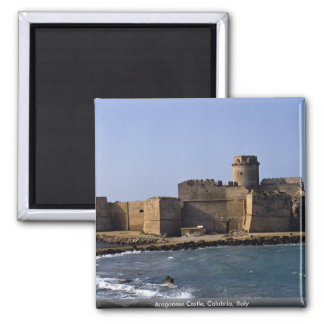 Aragonese Castle, Calabria, Italy Magnet