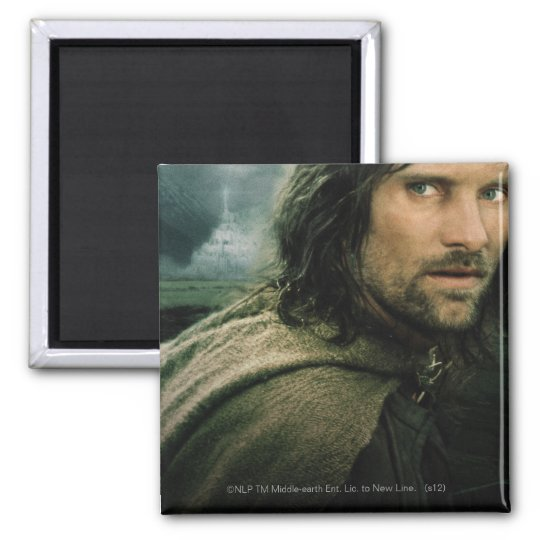 Aragorn Close Up Magnet