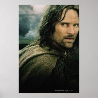 Aragorn Close Up Poster