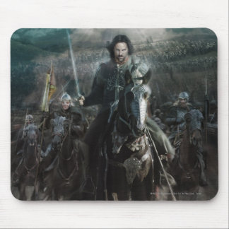 Aragorn Leading on Horse Mouse Mat