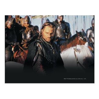 Aragorn on Horseback Postcard