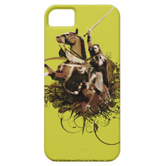 Aragorn Riding a Horse Vector Collage Barely There iPhone 5 Case