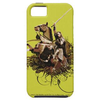 Aragorn Riding a Horse Vector Collage iPhone 5 Case