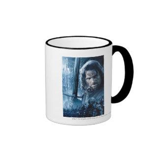 Aragorn Versus Orcs Ringer Mug