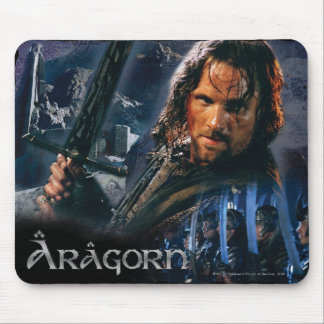 Aragorn With Army Mouse Mat