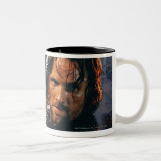 Aragorn With Army Two-Tone Coffee Mug