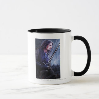 Aragorn with blood mug