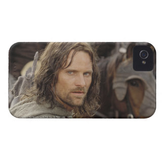 Aragorn with horse iPhone 4 case