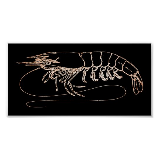 Aragosta Crab Sea Ocean Black Rose Gold Blush