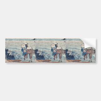 Arai  by Katsushika, Hokusai Ukiyoe Bumper Stickers