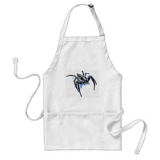 Aranha azul Blaue Spinne Blaue Spinne Araignée ble Standard Apron