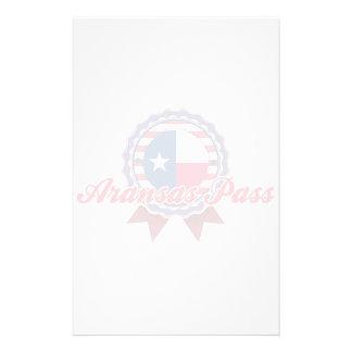 Aransas Pass, TX Custom Stationery
