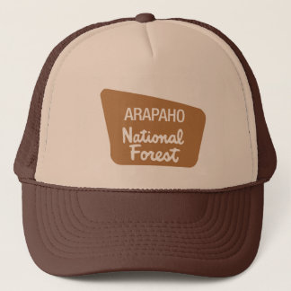 Arapaho National Forest (Sign) Trucker Hat