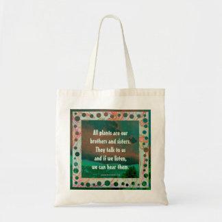 arapahoe tribe wisdom tote bag