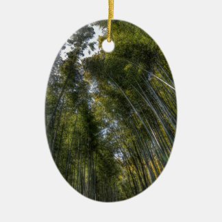 Arashiyama Bamboo Grove - Kyoto, Japan Christmas Ornament