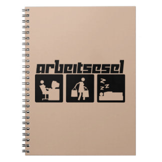 Arbeitsesel Notebook