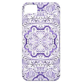 Arbella Purple Watercolour Pattern Phone Case