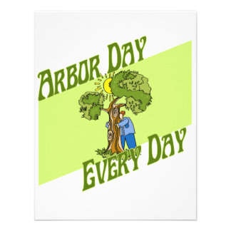 Arbor day every day invite