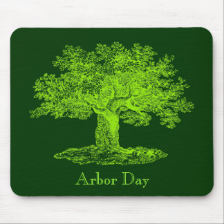 Arbor Day Mouse Mat