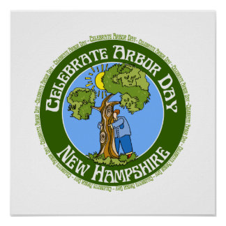 Arbor Day New Hampshire Poster