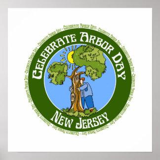 Arbor Day New Jersey Print