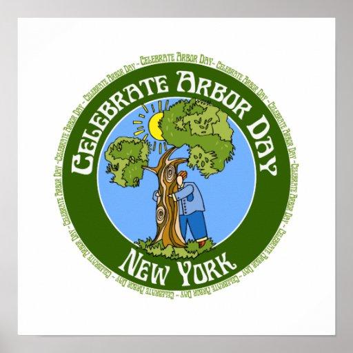Arbor Day New York Poster