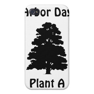 Arbor Day Plant A tree iPhone 4/4S Cases