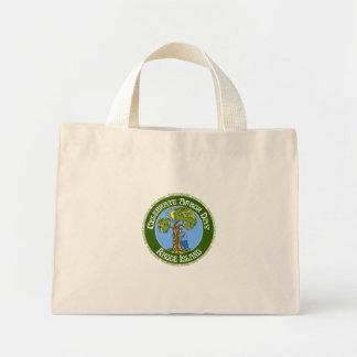 Arbor Day Rhode Island Mini Tote Bag