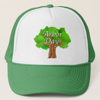 Arbor Day Tree Holiday Trucker Hat