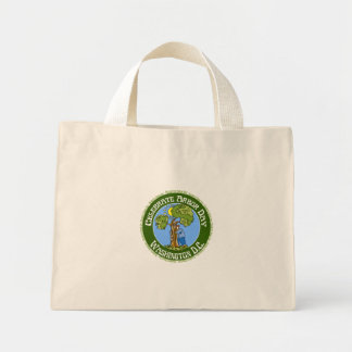 Arbor Day Washington DC Tote Bags