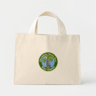 Arbor Day West Virginia Canvas Bags