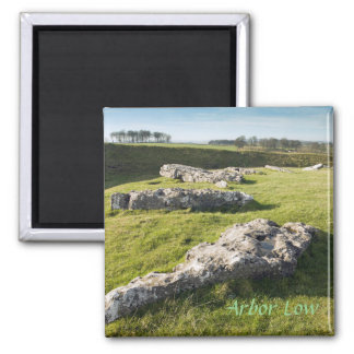 Arbor Low Stone Circle in Derbyshire photo Magnet