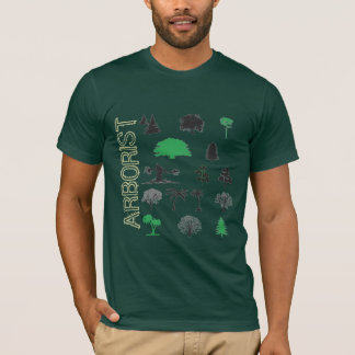 ARBORIST Tree Lovers Forest Green T-Shirt