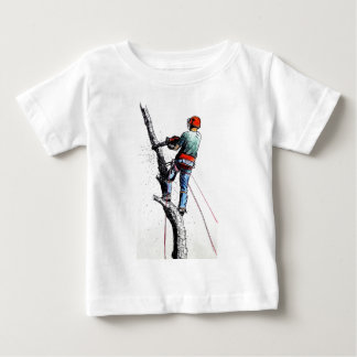 Arborist Tree Surgeon Stihl Baby T-Shirt