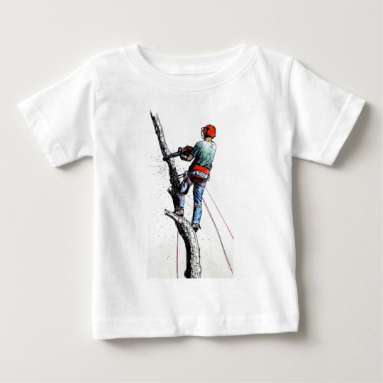 Arborist Tree Surgeon Stihl Baby T-Shirt