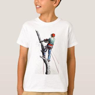 Arborist Tree Surgeon Stihl christmas present xmas T-Shirt