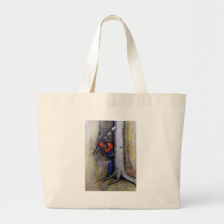 Arborist tree surgeon stihl husqvarna large tote bag