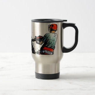 Arborist Tree Surgeon Stihl Travel Mug