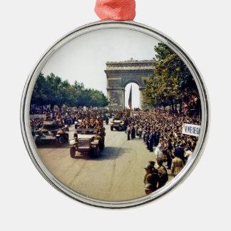 Arc De Triomphe 2 Christmas Ornament