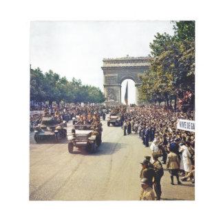 Arc De Triomphe 2 Notepad
